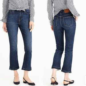 J. Crew Billie Demi Boot Crop in Brookdale Wash